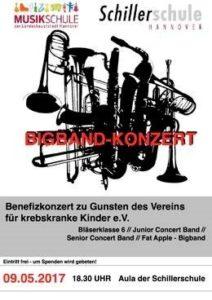 Bigband-Konzert Schillerschule Hannover