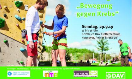Aktionstag im GriffReich DAV Kletterzentrum Hannover