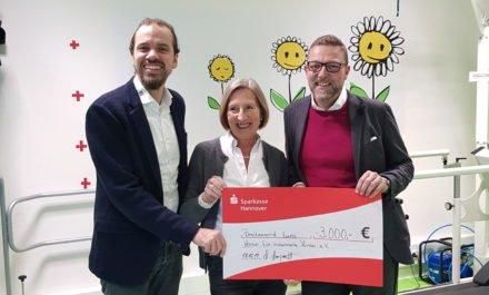 20-jähriges Spendenjubiläum – Michael Marquardt spendet seit 1999