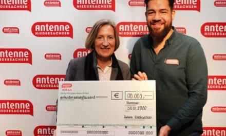 Sensationelle Bescherung für unsere Kinder – Spendenaktion von Antenne Niedersachsen zu Weihnachten bringt 170.000 Euro !