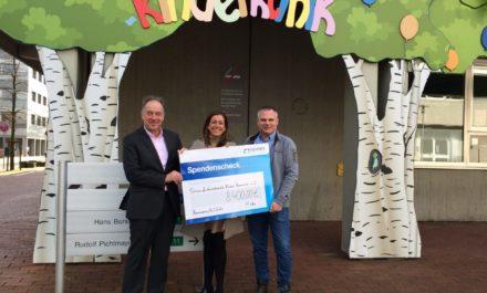TenneT-Mitarbeiter haben gewählt: Spende in Höhe von EUR 8400,00 geht an den Verein für krebskranke Kinder Hannover e.V.